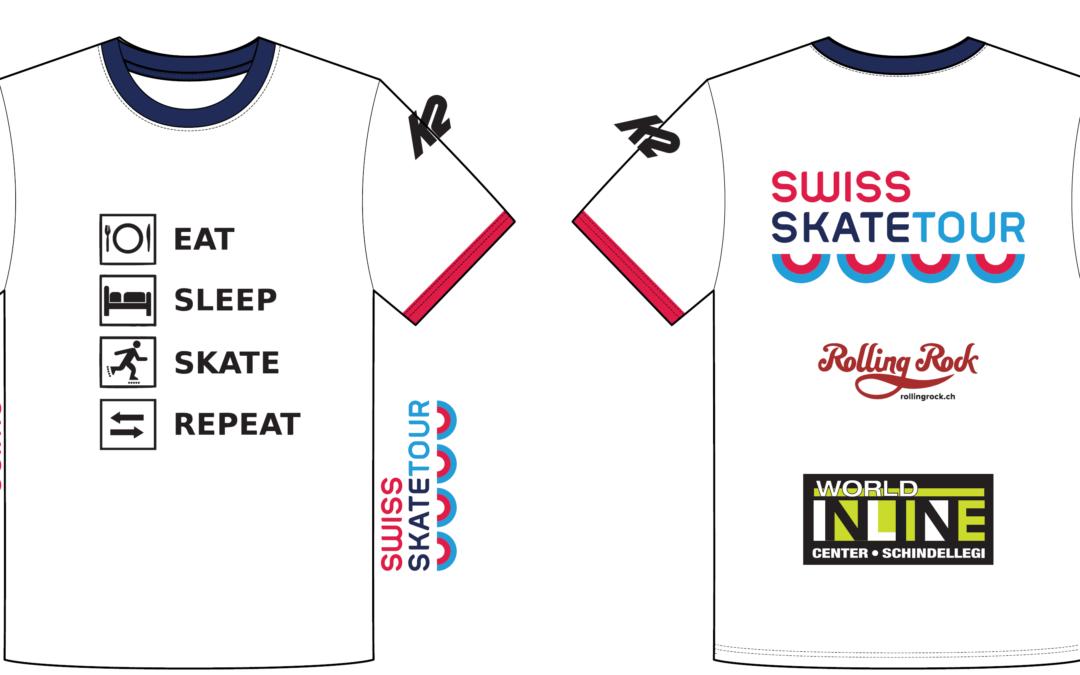 Dein Swiss Skate Tour Funktionsshirt 2020/21