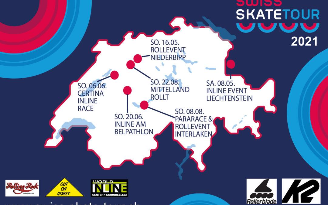 Pararace & Rollevent Interlaken am 8. August 2021 – Sechs Etappen im 2021