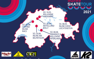 Pararace & Rollevent Interlaken am 8. August 2021 – Sechs Etappen im 2021