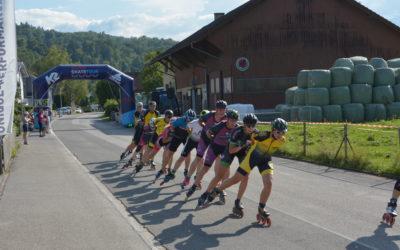 Inline Event Liechtenstein bei strahlendem Sonnenschein